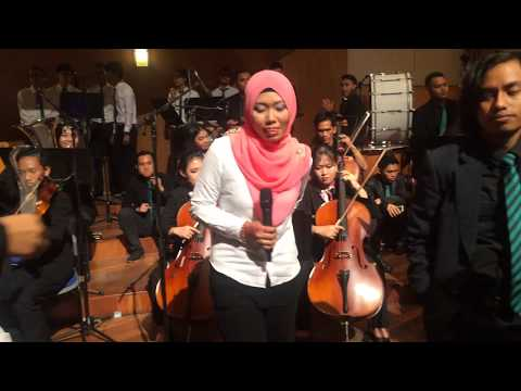 Gerua Dilwale OST at rehearsal Unimas Convocation 2016 (Orchestra Version)