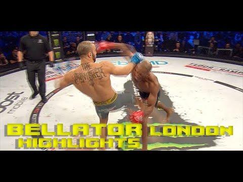 Bellator London Highlights: MVP Lands A Brutal Walk-off KO!