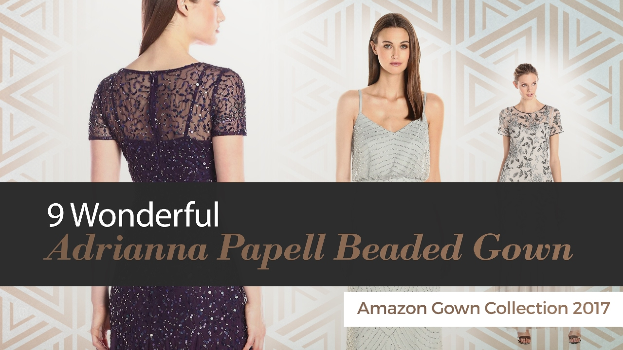 10d19bc4 9 Wonderful Adrianna Papell Beaded Gown Amazon Gown Collection 2017 ...