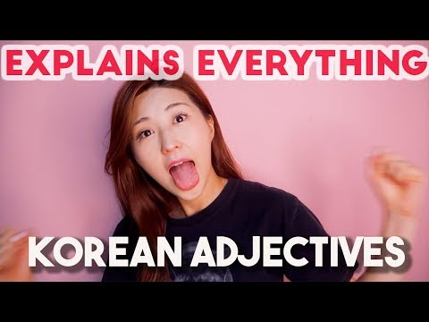 All About Korean Adjectives Explained in One Video