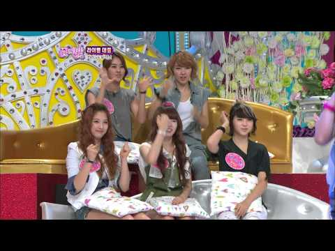 【TVPP】KARA - Dance Time! Hot Issue & Change(4MINUTE), 카라 - 포미닛춤 바꿔 추기 @ Flowers