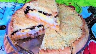 Губадия - очень вкусный и сытный пирог Татарской кухни.