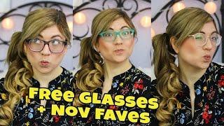 GET FREE GLASSES | November Favorites