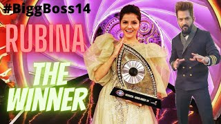 #Biggboss14 Winner #RubinaDiliak By Manu PUNJABI