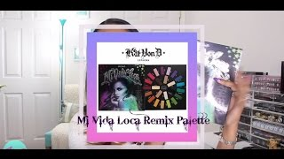 ✰ QUICK REVIEW ♡ SWATCHES | Kat Von D MI VIDA LOCA Remix Palette ✰