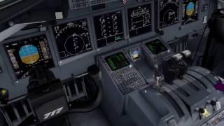 TFDI 717 crosswind landing cancun**awesome plane**