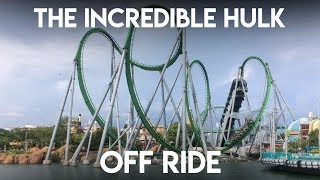 Universal's Islands of Adventure - The Incredible Hulk Coaster [Off Ride]