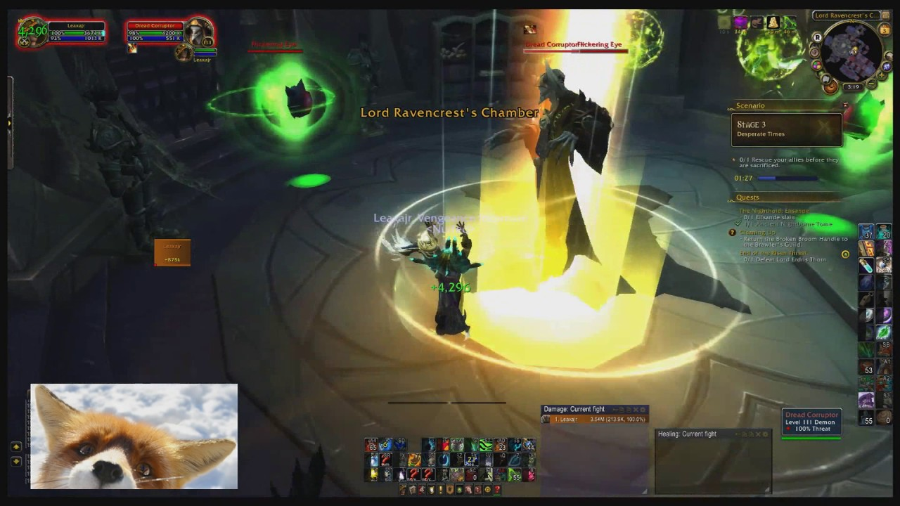 end of the risen threat resto druid guide