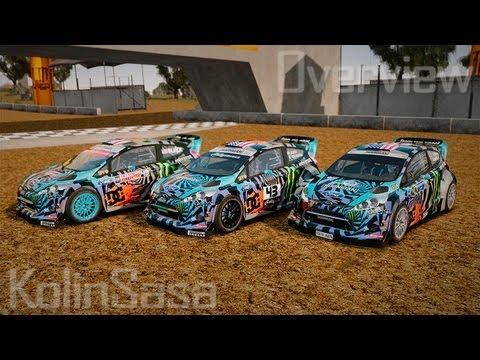 Ford Fiesta Rallycross Ken Block (Hoonigan) 2013