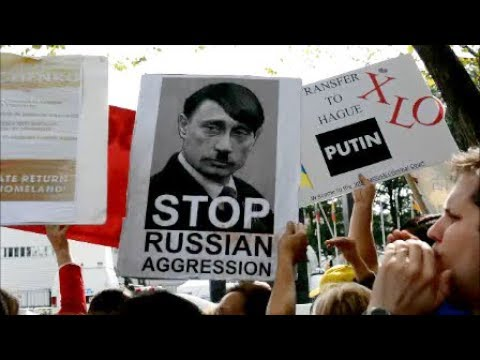 70th UN General Assembly (2015) - Ukrainian Protest