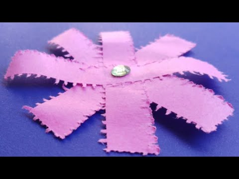 How To Make DIY Paper Flowers | Very Easy and Simple Paper Crafts with Sticky Notes