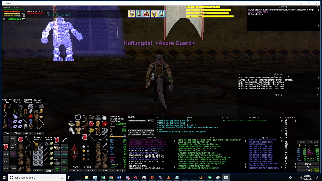 Azure Guard - Test Server - Everquest - Guild Hosting - Gamer Launch