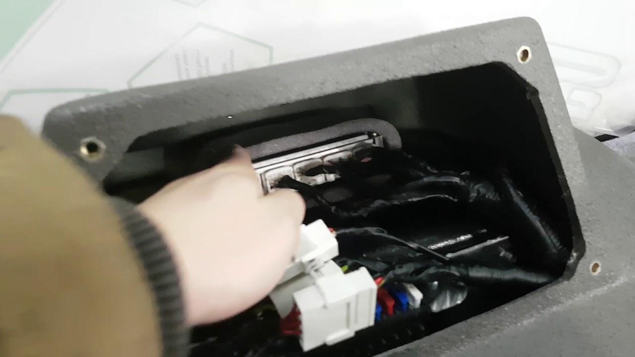 Квадроцикл РОСОМАХА попадание воды в компьютер!