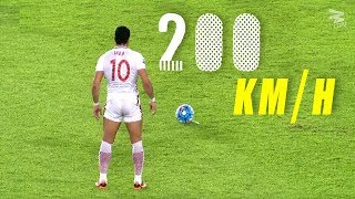 10 ROCKET Free Kicks That Shocked The World