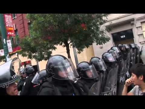 Into The Fire: The Canadian Police State at the G20 in 2010