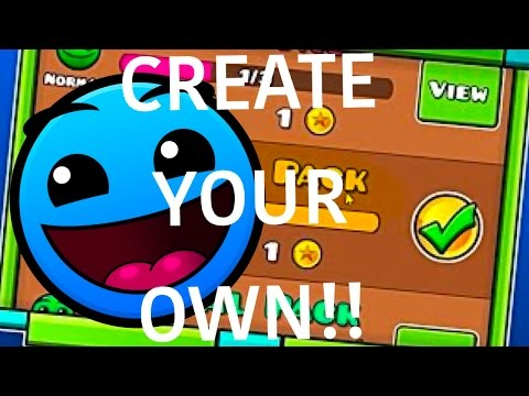 CREATE YOUR OWN MAP PACK LEVEL! | Geometry Dash Juniper