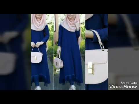 2e28712aa أحدت أزياء محجبات لصيف 2018 hijab fashion - YouTube