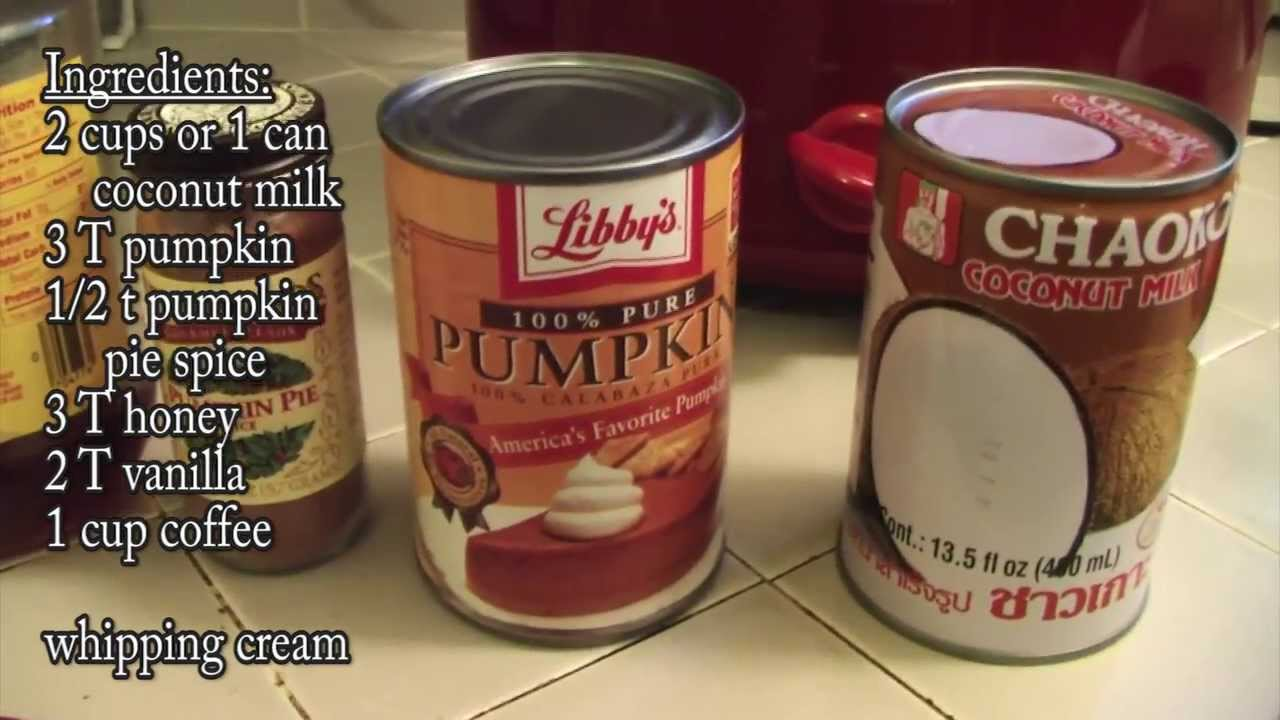 Primal blueprint recipe pumpkin spice latte youtube malvernweather Images