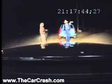 The Car Crash: Guy Stopped by Police Officer for DUI