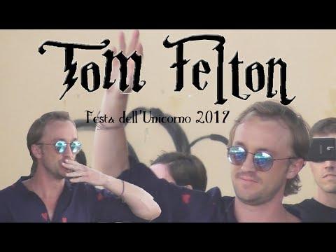 TOM FELTON RIPRESO DA MIA FIGLIA || Draco Malfoy || Festa dell Unicorno 2017