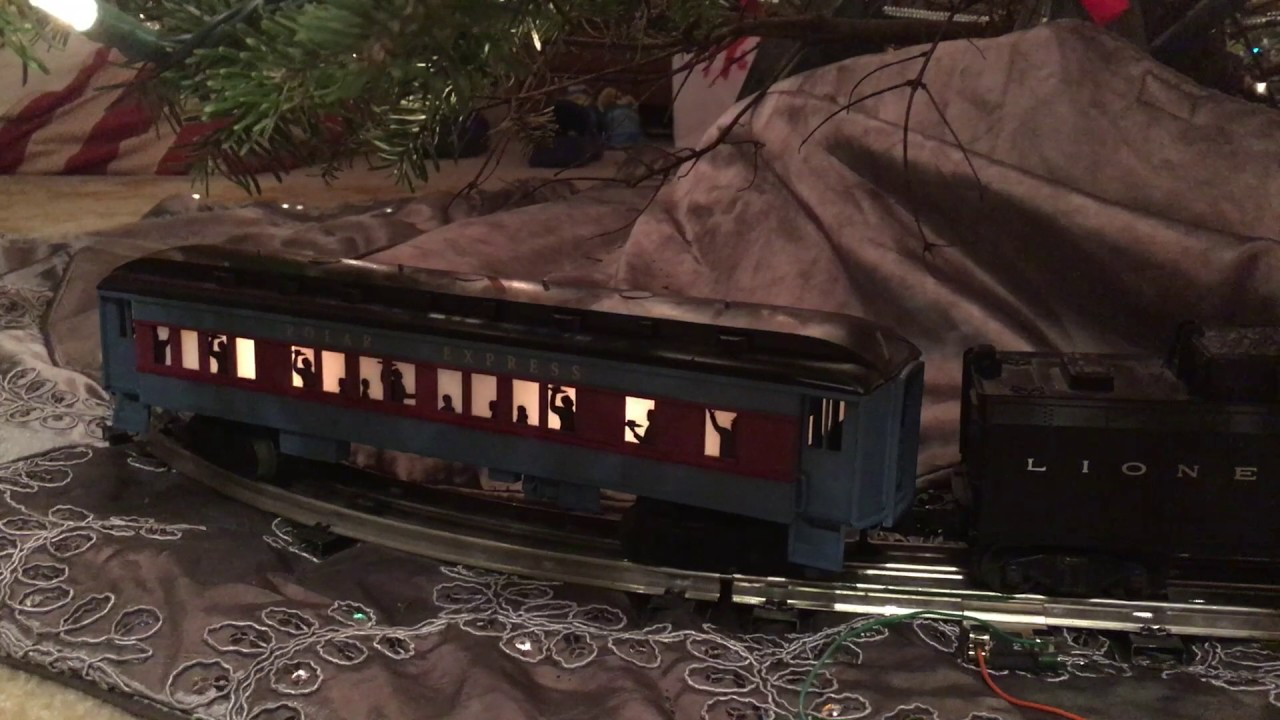 Lionel Polar Express Hot Chocolate Car added to Christmas Train ...