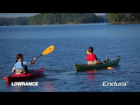 On the Water with Lowrance Endura GPS