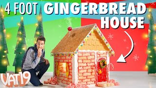 DIY Giant Gingerbread House Vs. Kids