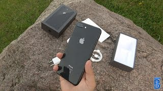 Apple iPhone 8 Plus in Spacegrau: Unboxing & Hands On - TouchBenny