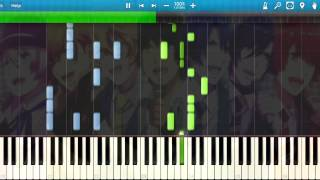 [Synthesia] STARISH - Maji Love Revolutions (Piano) Ending [Uta no Prince-sama]