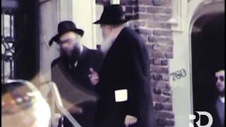NEW! The Rebbe Sees Off The Matzah Shipment To Israel | Vov Nissan, 5744