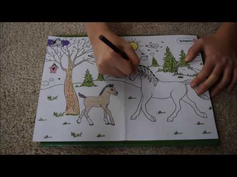 Coloring Schleich Horse Club Coloring Page YouTube