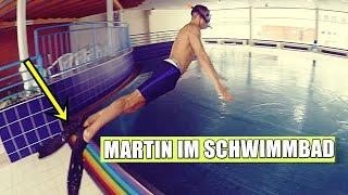 MARTIN IM SCHWIMMBAD !!! | Ksfreakwhatelse