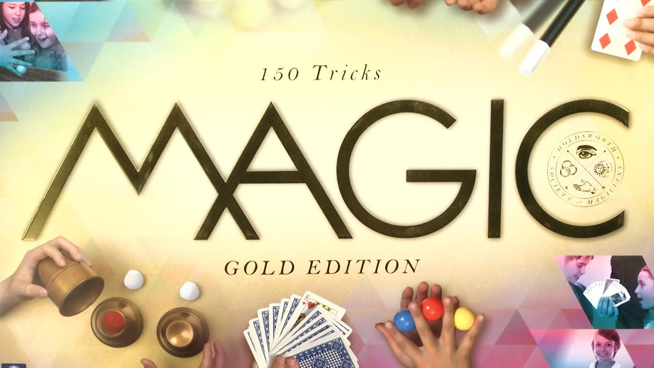 Zauberschule Magic Gold Edition 150 Tricks von KOSMOS