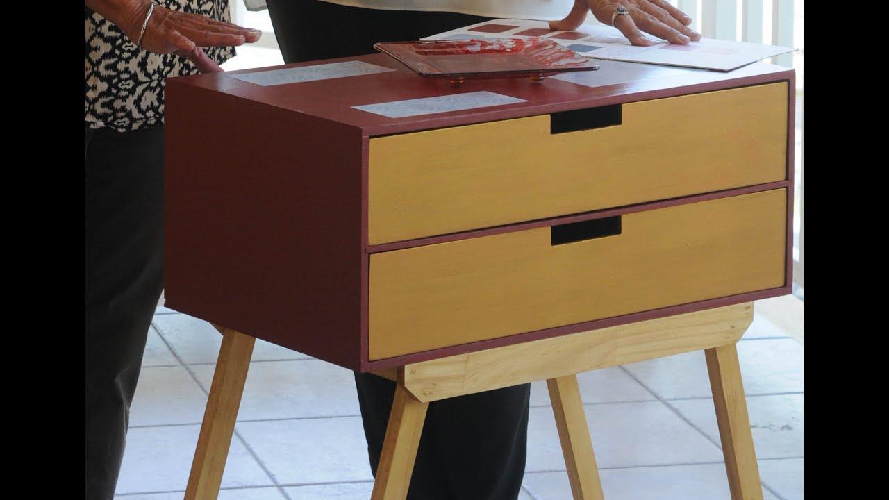 Reciclar mueble vintage retro herminia devoto lidia - Reciclar marmol ...