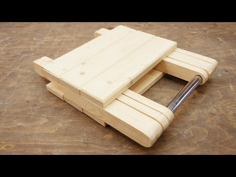 Cool Idea! Don't Throw Away Pieces Of Wood!
