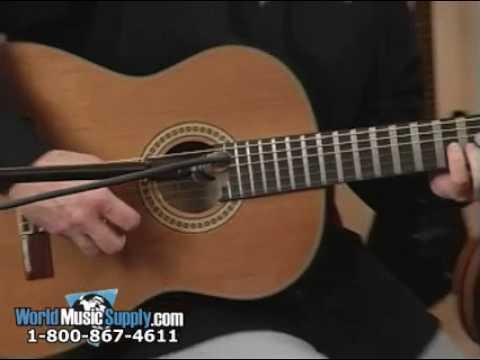 Washburn Classical Guitar C80S Demo