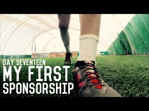 My First Sponsorship! | The Pre-Preseason Training Program | Day Seventeen