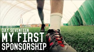 My First Sponsorship! | The Pre-Preseason Training Program | Day Seventeen