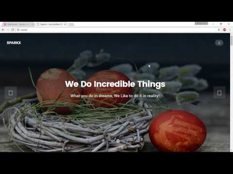 Create A Business Website - 05.1. Adding About, Portfolio, & Testimonials Section To Our Site