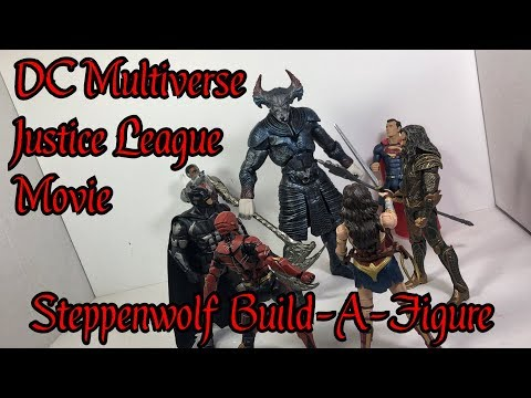 DC Multiverse Justice League Movie: Steppenwolf BAF (RafaPlaysWithToys)