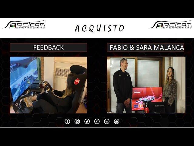 FANTASTICO!!!! HAI LA SENSAZIONE DI GUIDARE UN'AUTO DA CORSA - Fabio e Sara