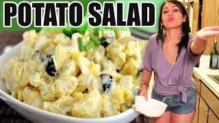 EGGLESS POTATO SALAD! - #TastyTuesday