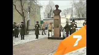 В Уяре открыли памятник единственному в крае маршалу артиллерии
