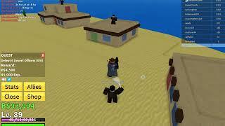 ROBLOX l NTC Game(Water) l 'i farm b'ng s'ng trong Blox Piece l (Blox Piece)
