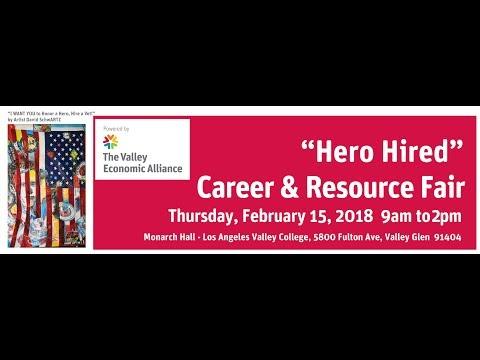 """Hero Hired"" Career and Resource Fair 2018"