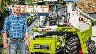 LS19 FarmerTown #17: Händler liefert den CLAAS! | LANDWIRTSCHAFTS SIMULATOR 19
