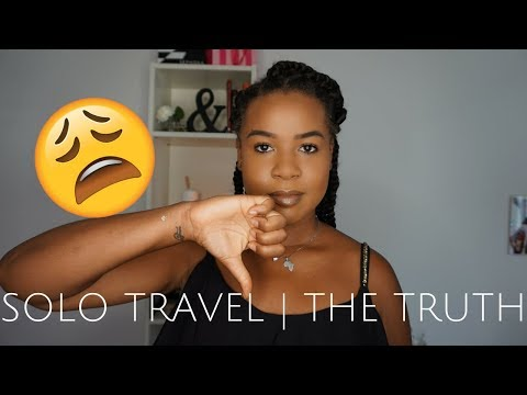 The CONS of Solo Travel 😩