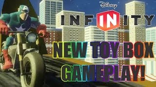 Disney Infinity - New Toy Box Auto Creator Gameplay! - Disney Infinity 2.0 News