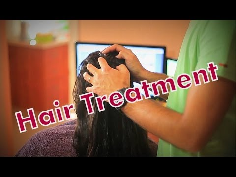 ASMR Hair Nutrition | Scalp Massage | Hair Brushing | Stroking | Marocan Oil