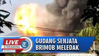 BREAKINGNEWS: Gudang Senjata Brimbob di Jawa Tengah Meledak